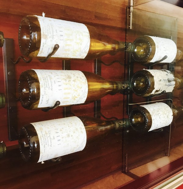 Wine library at Southbrook Vineyards
