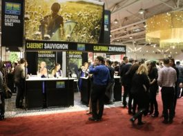 Wines of California at Gourmet Food and Wine Expo 2017 in Toronto