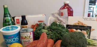 Groceries from Instacart Loblaws