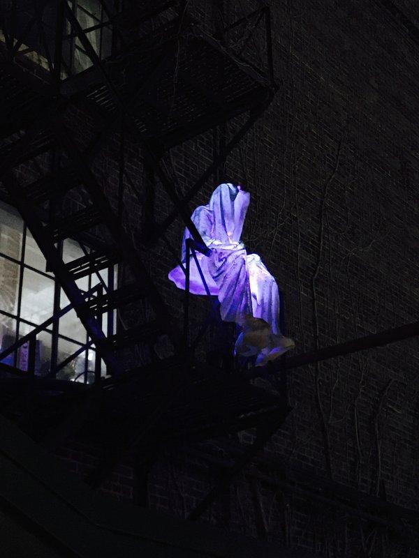 Guardians of Time by Manfred Kielnhofer at Toronto Light Festival
