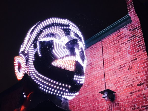 Talking Heads at Toronto Light Festival