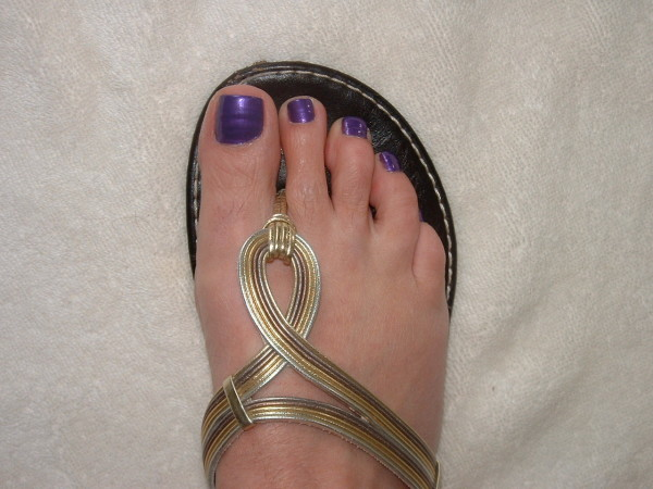 Pedicure from Chic Nails