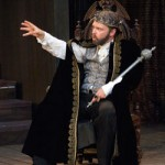 David Jansen in The Winter's Tale, photo by Chris Gallow