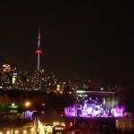 Skyline of Toronto from Echo Beach