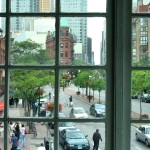 View from Market Kitchen at St. Lawrence Market