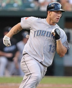 Blue Jays Third Baseman Brett Lawrie by Keith Allison