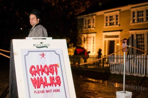 Black Creek Pioneer Village's Ghost Walk at Halloween