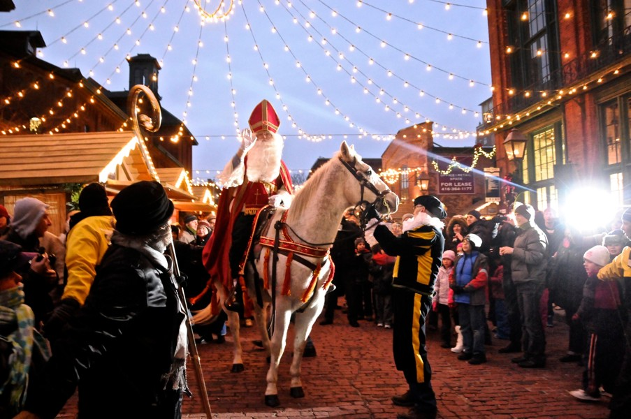 Lowe's Christmas Market at the Distillery District