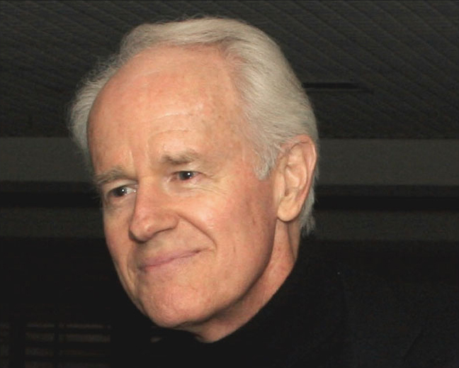 Actor Mike Farrell, photo by Mercury
