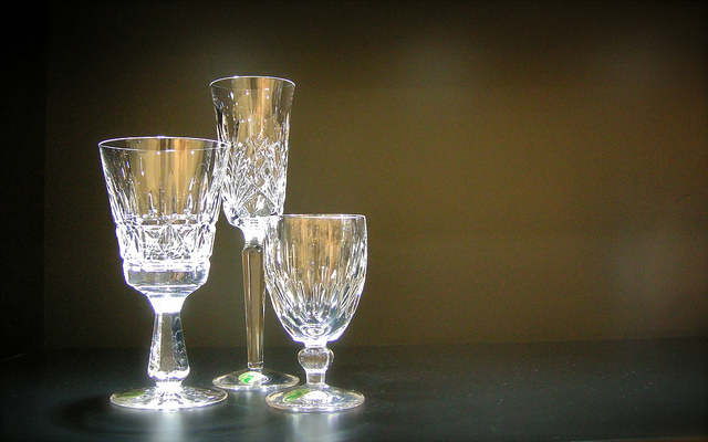 Waterford Crystal at Ashley Warehouse Sale by IrishFireside