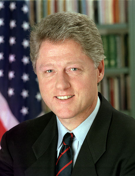 Bill Clinton, photo by Bob McNeely of the White House