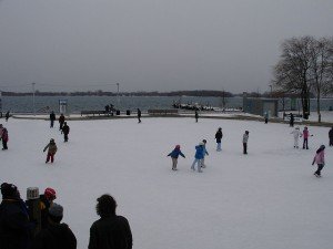 Harbourfront Natrel Rink by Richard Winchell
