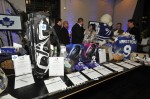 Silent Auction at Leafs' Charity Dinner