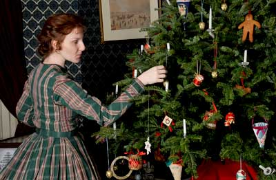 Christmas Decorations at Colborne Lodge