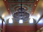 Chandelier in Main Hall at St. Lawrence Hall by Loozrboy