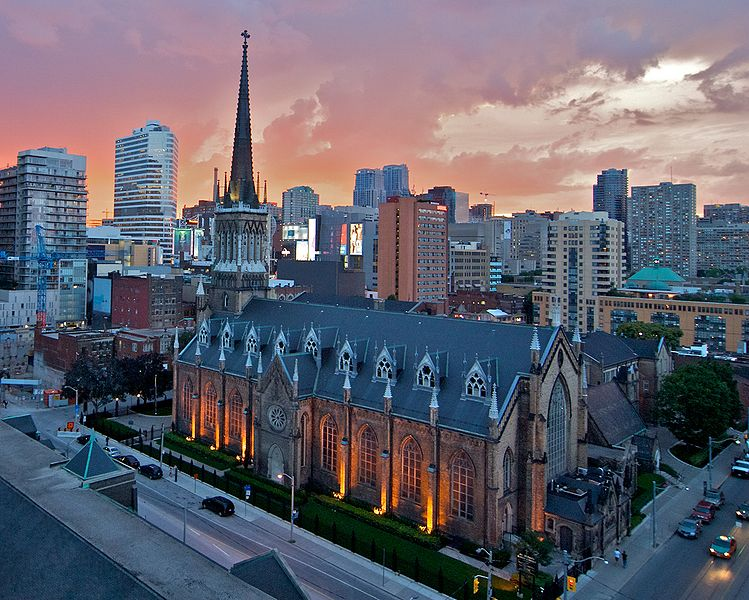 St. Michael's Cathedral Toronto by Skeezix1000