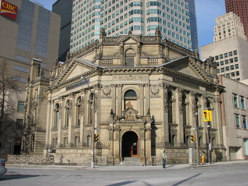Hockey Hall of Fame in Toronto, photo by Ian Muttoo