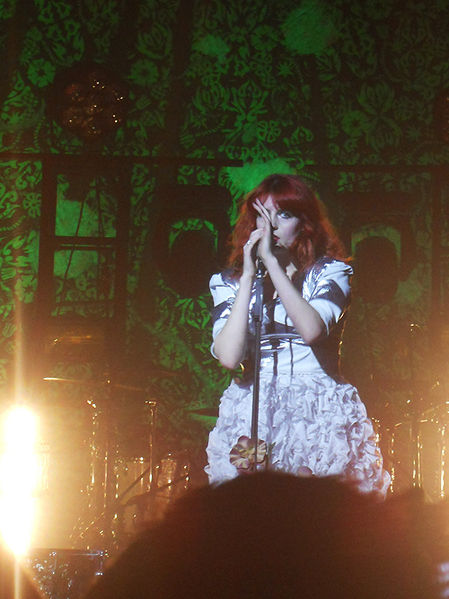 Indie group Florence and the Machine, photo by CodeAvalon