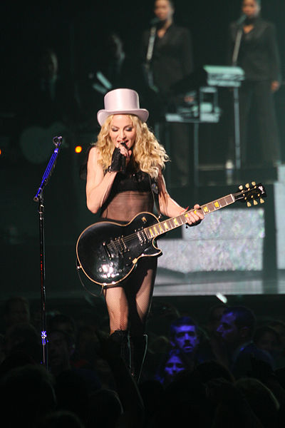 Pop singer Madonna, photo by iShot71 at Flickr