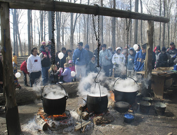 Bruce's Mill Maple Syrup Festival, photo Kathy Stranks