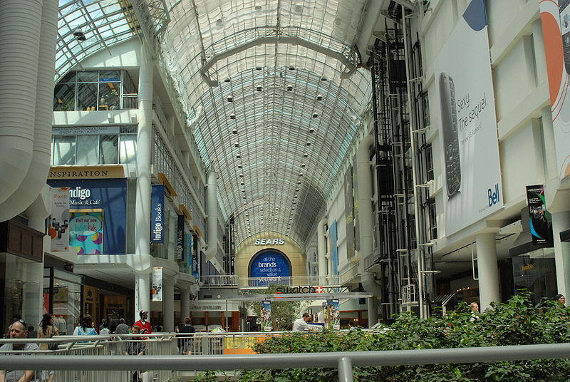 Toronto Eaton Centre, photo by Devjohnson