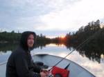 Fishing at Lake Herridge Lodge, Temagami