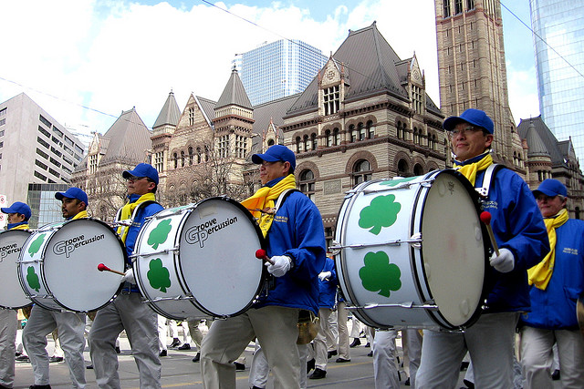 St. Patrick's Day Parade Toronto, photo by John Vetterli