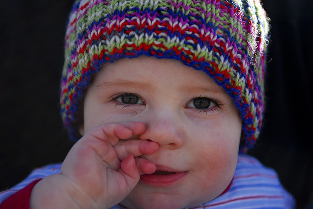 Cute baby boy, photo by M Glasgow/flickr