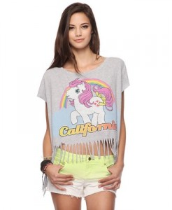 My Little Pony Top at Forever 21
