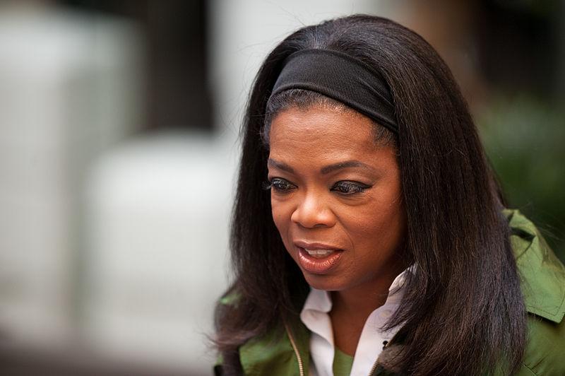 Oprah Winfrey, photo by Bill Ebbesen