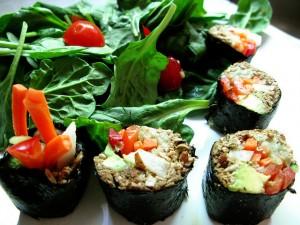 Raw Vegan Sushi, photo by ilovemypit