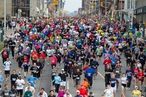 Toronto Yonge Street 10K, photo runCRS.ca