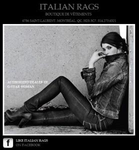 Italian Rags, Montreal