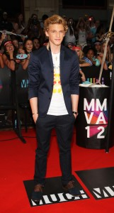 Cody Simpson on MMVA 2012 Red Carpet, photo MuchMusic
