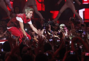 Justin Bieber Performs at MMVA 2012, photo MuchMusic