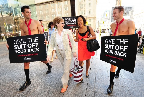 Moores' Canadian Suit Drive Toronto 2012
