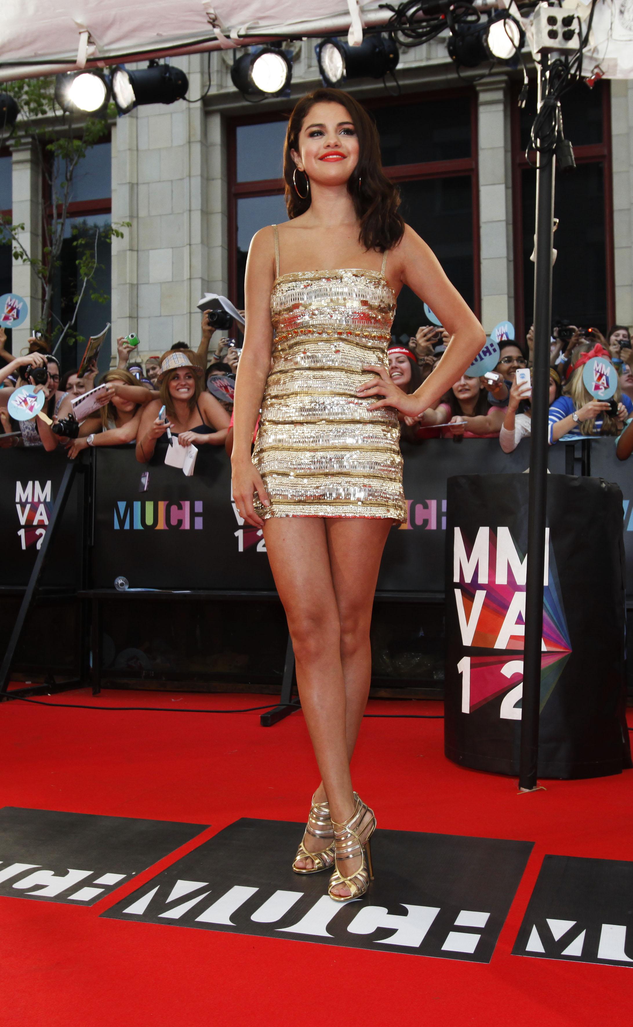 Selena Gomez on MMVA 2012 Red Carpet, photo MuchMusic