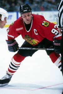 Former Toronto Maple Leafs' Doug Gilmour, photo by newsker93