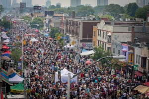 Pilaros Taste of the Danforth, photo Neil Ward