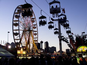 Skyride at CNE, photo courtesy CNE
