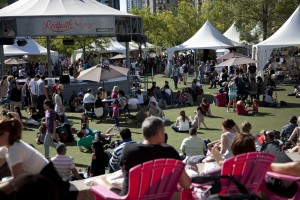 Vegetarian Food Festival at Harbourfront, photo Sean Ohlenkamp