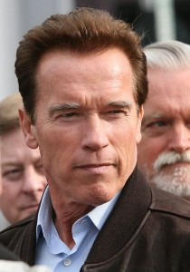Arnold Schwarzenegger, photo by Bob Doran
