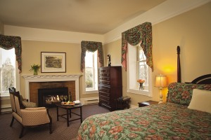 Room at Millcroft Inn and Spa, courtesy Millcroft Inn