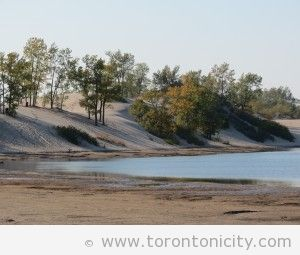 Dunes Beach at Sandbanks Provincial Park