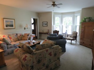 Guests' Living Area at Hillsdale House