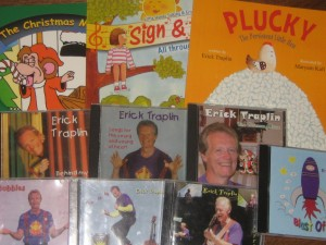 Erick Traplin's Books and CDs
