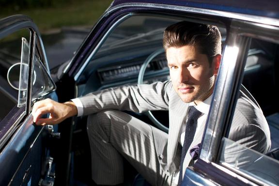 Matt Dusk, photo courtesy Bloor-Yorkville BIA