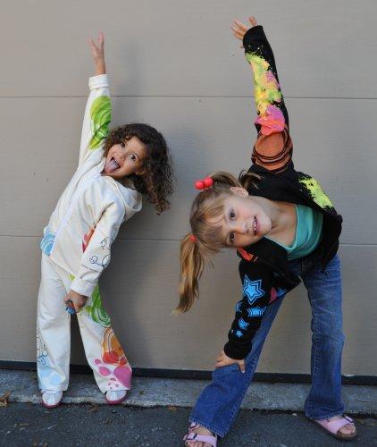 Monkey Business Girls Yoga-Inspired Clothing