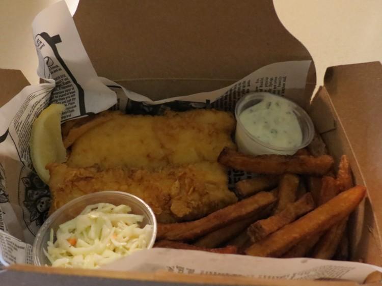 Fresco's Haddock & Chips