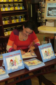 Author Lisa Dalrymple at book launch in St. John's